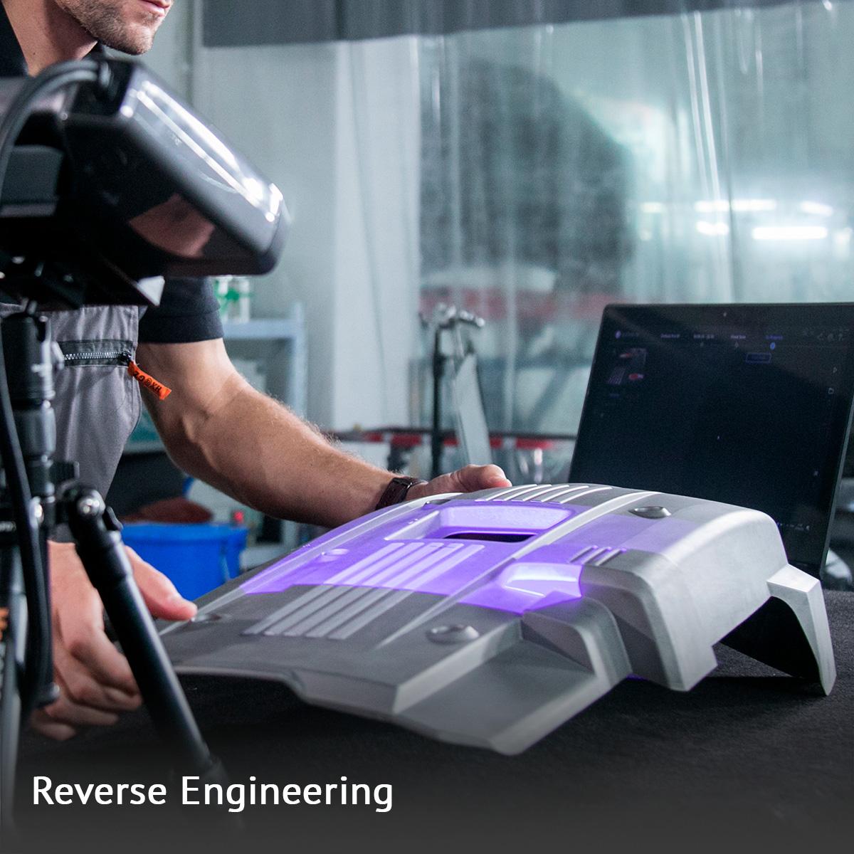 crea 3D corso reverse engineering