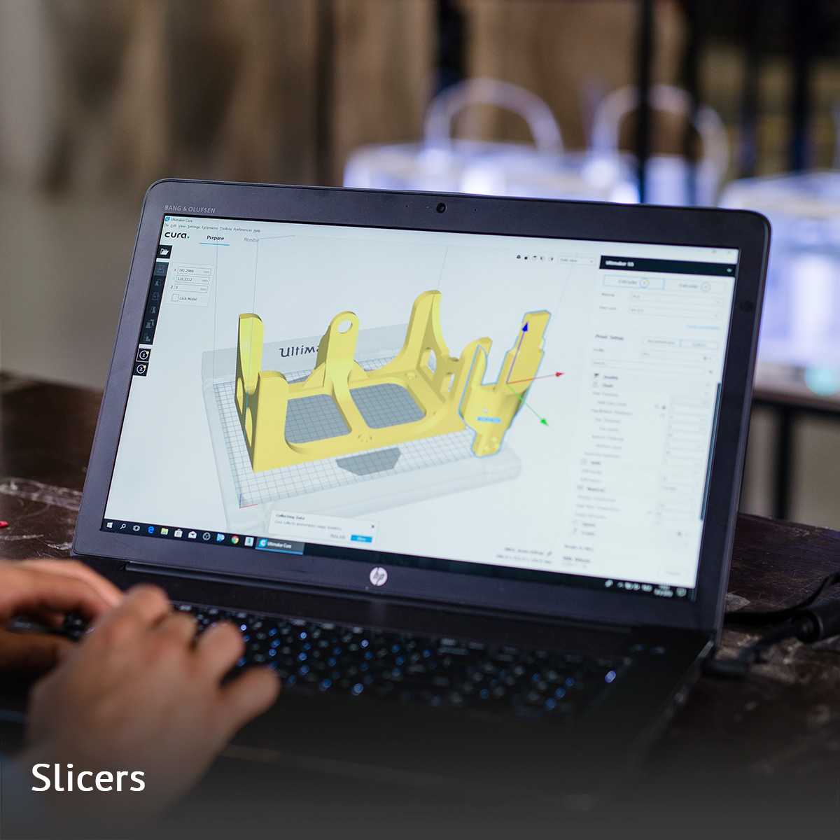crea 3D corso slicer