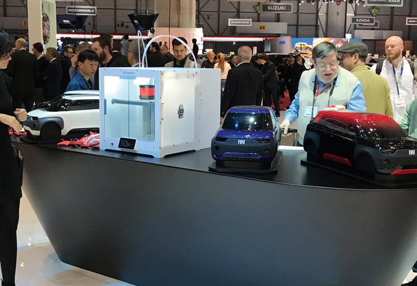 fiat centoventi stampa 3D