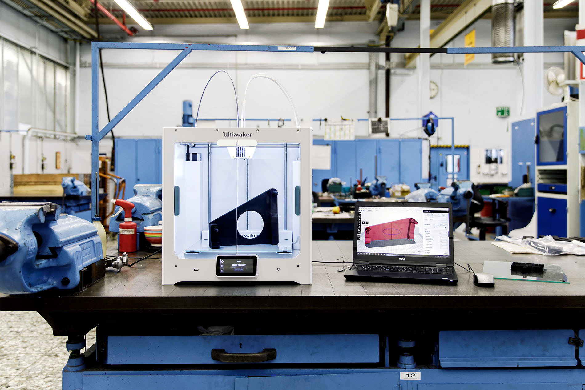 The Ultimaker S5 in Ford's Pilot Plant in Cologne
