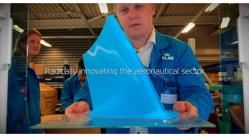 KLM, stampa 3D e rispetto per l'ambiente