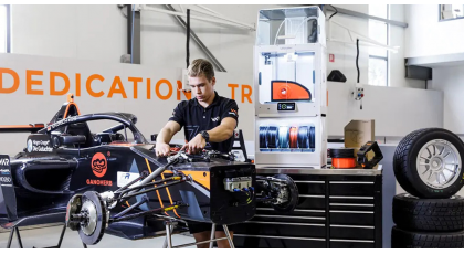 Van Amersfoort Racing: 3D printing when every second counts