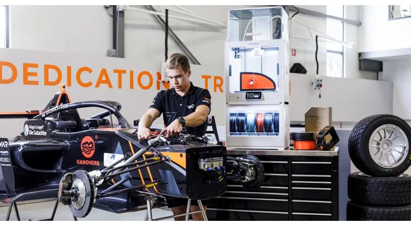 Van Amersfoort Racing e stampa 3D: quando ogni secondo conta