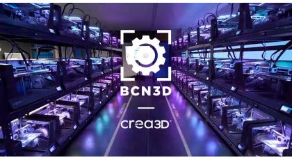 BCN3D announces new partnership with CREA3D