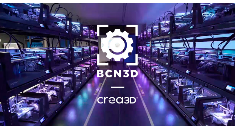 BCN3D announces new partnership with CREA3D