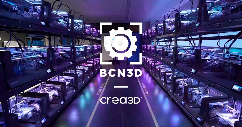 BCN3D annuncia la nuova partnership con CREA3D
