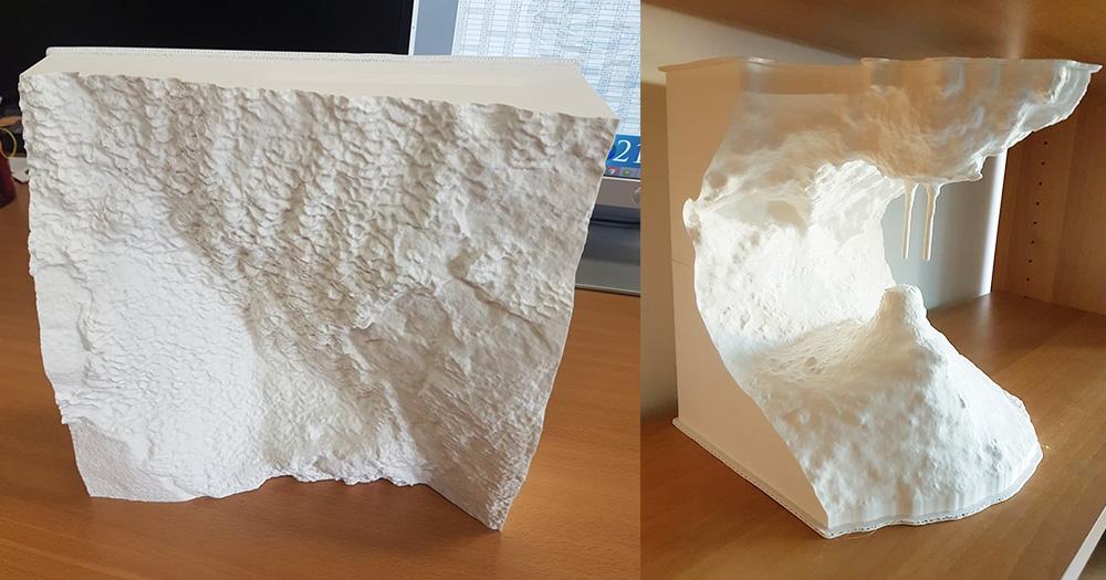 Stampa 3D e geologia: l'approccio di ENSU