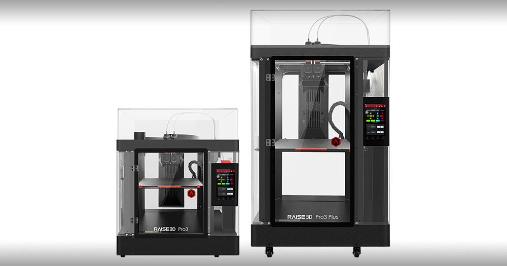 Raise3D announces the Pro3 Series for small-batch production
